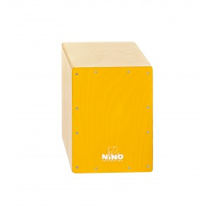 "NINO950Y - Cajon 13"", Bouleau, Facade Jaune"