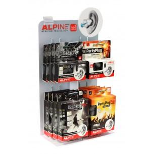 ALPINE-DS1 - Presentoir Bouchons 16 Refs