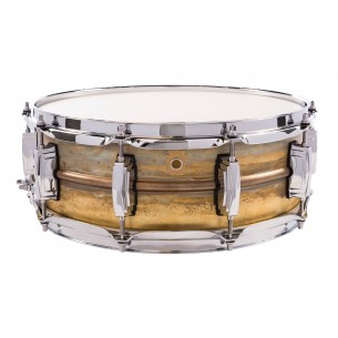 LB454R - Caisse Claire Raw Brass 5X14