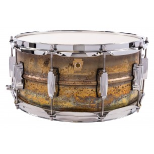 LB464R - Caisse Claire Raw Brass 6.5X14