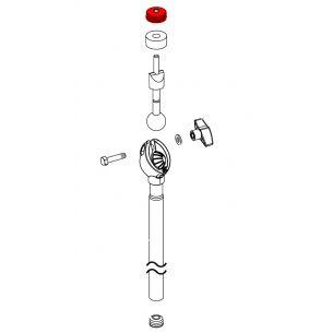 5100061091 - Papillon cymbale rond - Cymbal nut