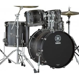 LHOROCK-UCS - Kit Live Custom Hybrid Oak ROCK 22 10 12 16 + support TH945B - Uzu Charcoal Sunburst