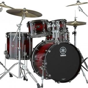 LHOROCK-UMS - Kit Live Custom Hybrid Oak ROCK 22 10 12 16 + support TH945B - Uzu Magma Sunburst