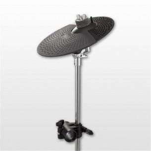"""PCY95AT - Kit cymbale électronique 10"""" + perche + clamp + câble stéréo"""
