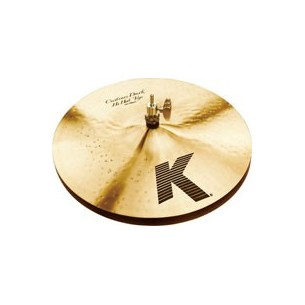 "K' CUSTOM 14"" Dark Hi-Hats"
