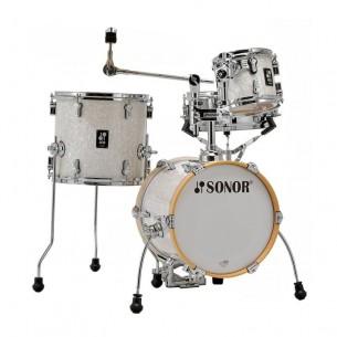 "AQ2 MARTINI WHP - Kit AQ2 4 fûts MARTINI 14"" 8"" 13"" CC 12"" avec support cymbale - WHITE PEARL"