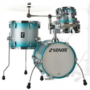 """AQ2 MARTINI ASB - Kit AQ2 4 fûts MARTINI 14"""" 8"""" 13"""" CC 12"""" avec support cymbale - AQUA SILVER BURST"""