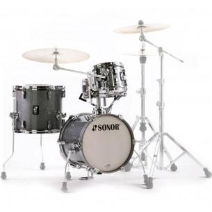 """AQ2 MARTINI TQZ - Kit AQ2 4 fûts MARTINI 14"""" 8"""" 13"""" CC 12"""" avec support cymbale - TITANIUM QUARTZ"""
