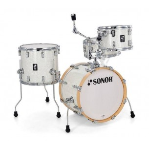 "AQ2 BOP WHP - Kit AQ2 4 fûts BOP 18"" 12"" 14"" CC 14"" avec support cymbale - WHITE PEARL"