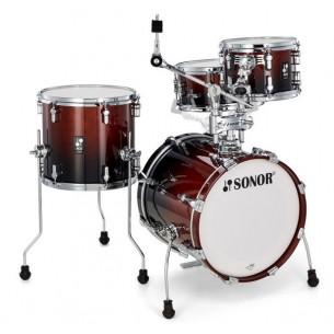 """AQ2 SAFARI BRF - Kit AQ2 4 fûts SAFARI 16"""" 10"""" 13"""" CC 13"""" avec support cymbale - BROWN FADE"""