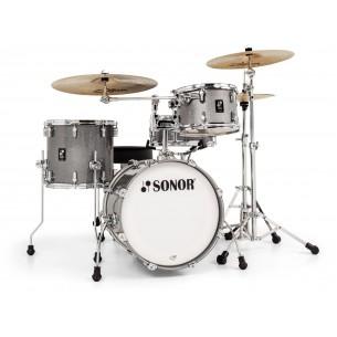 """AQ2 SAFARI TQZ - Kit AQ2 4 fûts SAFARI 16"""" 10"""" 13"""" CC 13"""" avec support cymbale - TITANIUM QUARTZ"""