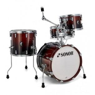 "AQ2 BOP BRF - Kit AQ2 4 fûts BOP 18"" 12"" 14"" CC 14"" avec support cymbale - BROWN FADE"