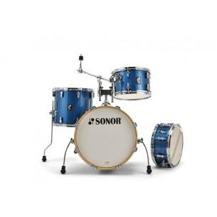 """Kit AQX Jazz 18"""" 4 fûts BLUE OCEAN SPARKLE"""