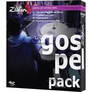 AC0801G - Set cymbales A CUSTOM - Pack Gospel