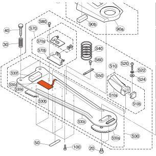 V3710700 - Switch Capteur électronique HH65 Yamaha