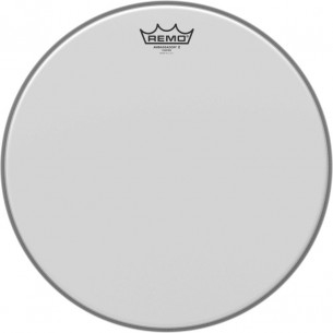 "AX-0115-00 - Peau Ambassador X sablée 15"" pour Tom/Caisse Claire/Floor tom"