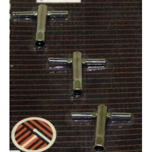 HK-1525-09 - Clef pour Tambour à main, Tamborim & Pandeiro (3 pièces)