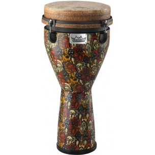 """DJ-0010-LM - Djembe Signature Leon Mobley 24"""" x 10"""" - Accordable"""