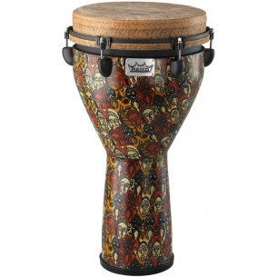 """DJ-0012-LM - Djembe Signature Leon Mobley 24"""" x 12"""" - Accordable"""