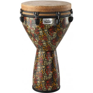 """DJ-0014-LM - Djembe Signature Leon Mobley 25"""" x 14"""" - Accordable"""