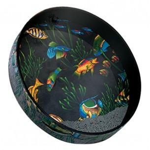 """ET-0216-10 - Tambour """"Ocean"""" 2.5x16"""" - Fish"""