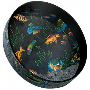 """ET-0222-10 - Tambour """"Ocean"""" 2.5x22"""" - Fish"""