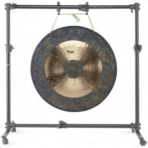 """GOS-1538 - Stand réglable pour gong de 51"""" de diamètre ou plus petit, sur roulettes"""
