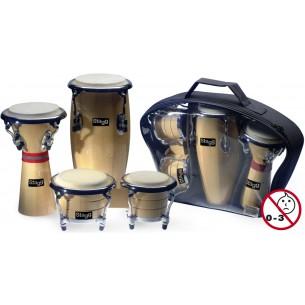 BCD-N-SET - Set de mini Percussions Latino-africaines, comprenant
