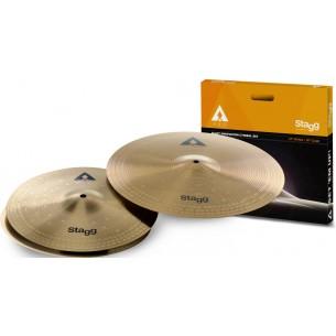 """AXA SET - Set de cymbales en alliage """"cuivre et acier"""", Innovation"""