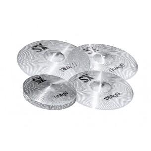 SXM SET - Set de cymbales d'entraînement silencieuses