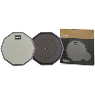 """TD-08R - Practice pad de table de 8"""" (tampon d'exercice), décagonal"""