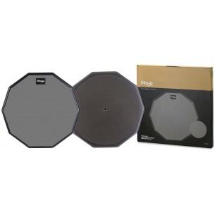 """TD-12R - Practice pad de table de 12"""" (tampon d'exercice), décagonal"""