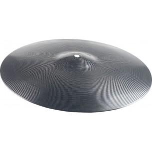 """CPB-14 - Cymbale d'entrainement 14"""" en plastique noir"""