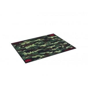 Tapis de sol pour batterie, camouflage
