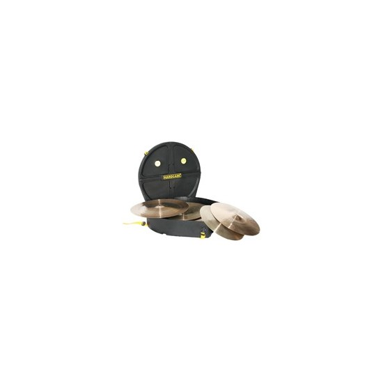 "Etui cymbales 22"" (jusqu'à 9 cymbales), noir"