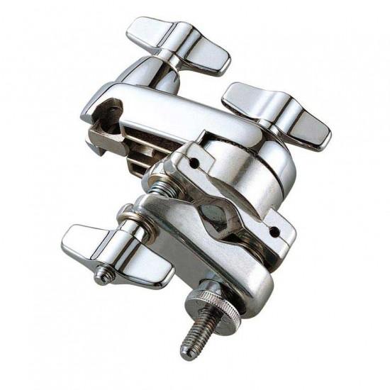MC7 - Clamp compact pour perchettes ou L-Rod sur tube