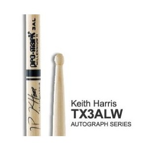 Baguettes American Autograph Hickory 3AL - KEITH HARRIS