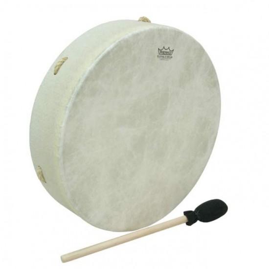 """Buffalo Drums 14"""" - Tambourin à peau, livrée avec mailloche"""