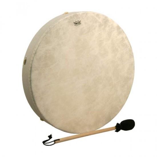 """Buffalo Drums 22"""" - Tambourin à peau, livrée avec mailloche"""