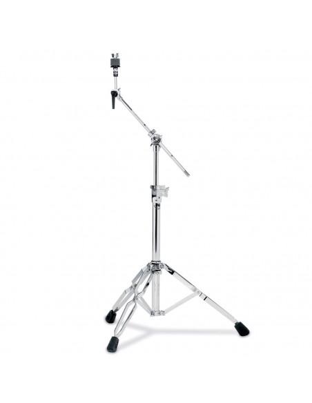 9701 - Stand cymbale perche court, double embase, tilter à frein Techlock