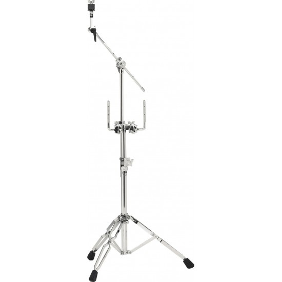 9934 - Stand double tom et cymbale, avec perchette, double embase