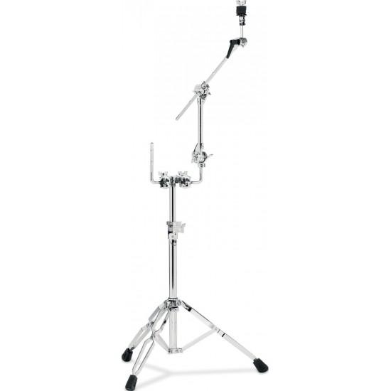 9999 - Stand simple tom et cymbale, avec perchette sur Dog Bone, double embase