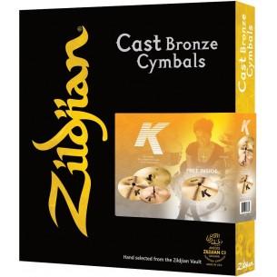 Set cymbales K' hi-hat 14'' + crash 16'' + ride 20''+ crash 18'' OFFERTE