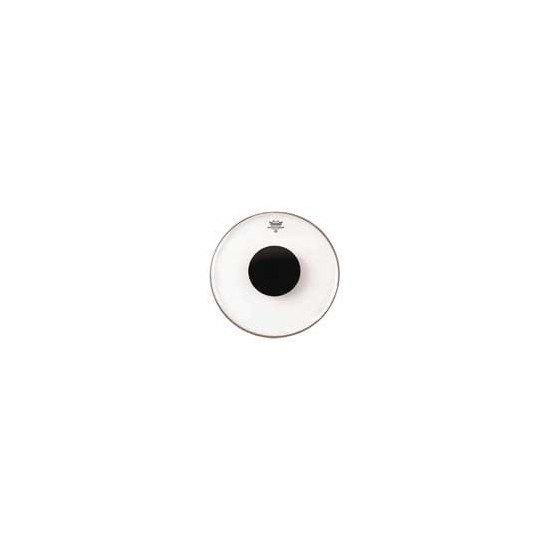 "CONTROLLED SOUND Transparente 13"" + renfort noir"