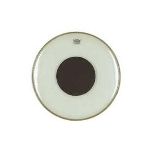 "CONTROLLED SOUND Transparente 18"" Grosse-caisse + renfort noir"