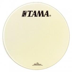 """CT22BMOT - Peau de résonance blanche 22"""" grosse-caisse - Logo Tama Starclassic"""