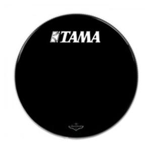 """BK22BMTT - Peau de résonance noire 22"""" grosse-caisse - Logo Tama Starclassic"""