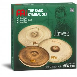 BV141820SA - Pack cymbales Vintage Benny Greb 14/18/20