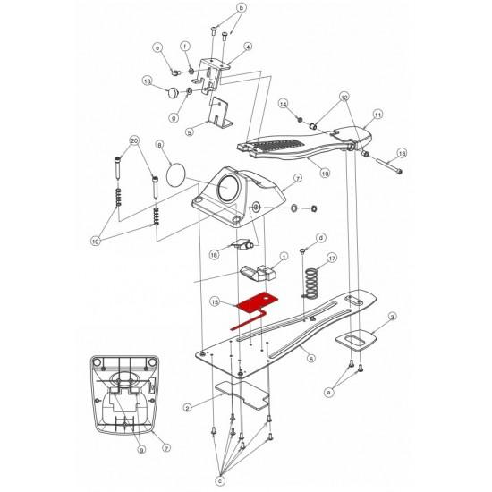 C3400026R0 - Capteur électronique FD-8 Roland