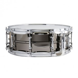 """Caisse-claire Black Beauty Brass Supra Phonic 14 x 5"""", coquilles tubulaires"""